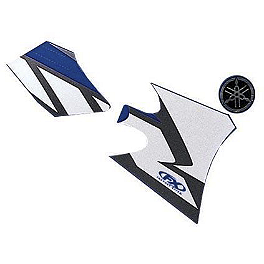 Factory Effex OEM Graphics 04 Yamaha - 2007 Yamaha YZ85 Factory Effex All-Grip Seat Cover