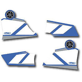 Factory Effex OEM Graphics 01 Yamaha - 2002 Yamaha YZ250F Factory Effex DX1 Backgrounds Works - Yamaha
