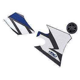 Factory Effex OEM Graphics 04 Yamaha - 2004 Yamaha YZ250F Factory Effex All-Grip Seat Cover