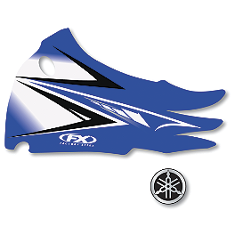 Factory Effex OEM Graphics 11 Yamaha - 2012 One Industries Fork Guard Decals - Yamaha