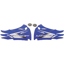 Factory Effex OEM Tank / Shroud Graphics - Yamaha - 2011 Yamaha YZ450F Factory Effex All-Grip Seat Cover