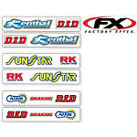 Factory Effex Swingarm Decals - Factory Effex Dirt Bike Body Parts and Accessories