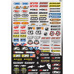 Factory Effex Micro Sponsor Kit - Dirt Bike Body Parts and Accessories