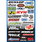 Factory Effex Sponsor Kit A - Factory Effex Dirt Bike Trim Decals