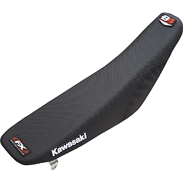Factory Effex B-4 Gripper Seat Cover Kawasaki - Factory Effex TC-4 Seat Cover With Bump - Kawasaki