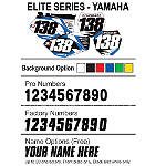 Factory Effex DX1 Backgrounds Elite - Yamaha - Motocross Graphics & Dirt Bike Graphics