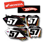 Factory Effex DX1 Backgrounds Hot Wheels - Honda - Honda CR125 Dirt Bike Graphics