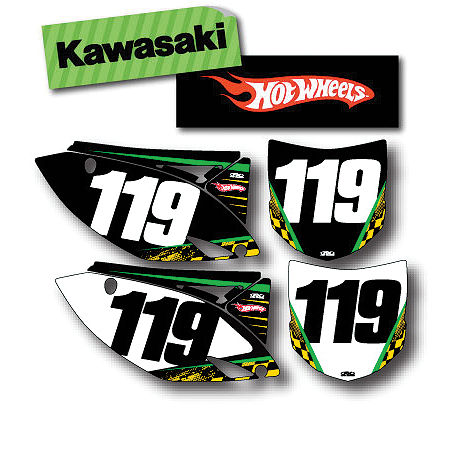 Factory Effex DX1 Backgrounds Hot Wheels - Kawasaki - Main