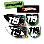 Factory Effex DX1 Backgrounds Hot Wheels - Kawasaki - Dirt Bike Graphics