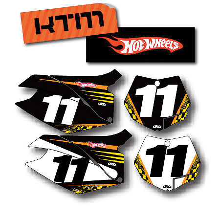 Factory Effex DX1 Backgrounds Hot Wheels - KTM - Main