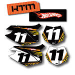 Factory Effex DX1 Backgrounds Hot Wheels - KTM - KTM 525EXC Dirt Bike Body Parts and Accessories
