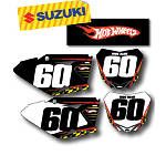 Factory Effex DX1 Backgrounds Hot Wheels - Suzuki - Dirt Bike Custom Graphics