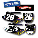 Factory Effex DX1 Backgrounds Hot Wheels - Yamaha - Motocross Graphics & Dirt Bike Graphics