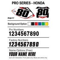 Factory Effex DX1 Backgrounds Pro - Honda