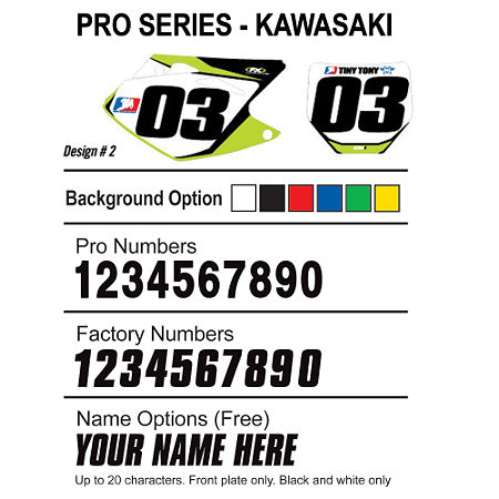 Factory Effex DX1 Backgrounds Pro - Kawasaki - Main