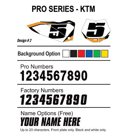Factory Effex DX1 Backgrounds Pro - KTM - Main