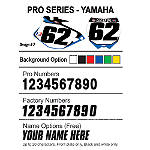 Factory Effex DX1 Backgrounds Pro - Yamaha - Dirt Bike Dirt Bike Parts