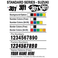 Factory Effex DX1 Backgrounds Standard - Suzuki