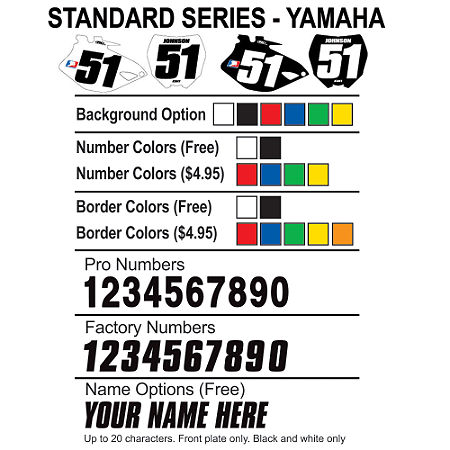Factory Effex DX1 Backgrounds Standard - Yamaha - Main
