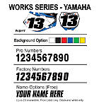 Factory Effex DX1 Backgrounds Works - Yamaha - Custom Dirt Bike Graphics