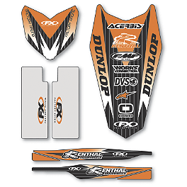 Factory Effex Standard Trim Kit - KTM - 2008 KTM 125SX Factory Effex All-Grip Seat Cover
