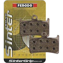 Ferodo Sintered STAC Track Day Brake Pads - Front - 2010 Ducati Monster 1100 Ferodo Platinum Organic P Brake Pads - Rear