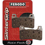 Ferodo Sintered XRAC Race Brake Pads - Front - FERODO Dirt Bike Brakes
