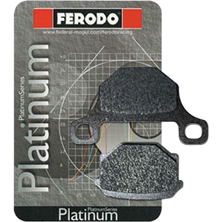 Ferodo Platinum Organic P Brake Pads - Rear - Main