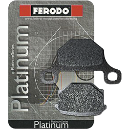 Ferodo Platinum Organic P Brake Pads - Rear - 2009 Ducati Monster 696 BikeMaster Brake Pads - Rear