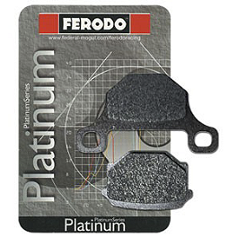 Ferodo Platinum Organic P Brake Pads - Rear - 2004 Triumph Speed Four 600 Ferodo Sintered ST Brake Pads - Rear