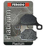 Ferodo Platinum Organic P Brake Pads - Rear - Motorcycle Brake Pads