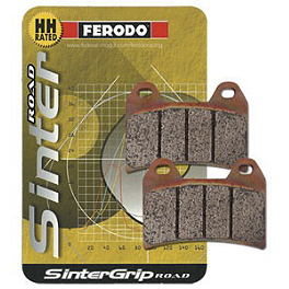 Ferodo Sintered ST Brake Pads - Rear - 2004 Triumph Speed Four 600 Ferodo Platinum Organic P Brake Pads - Rear