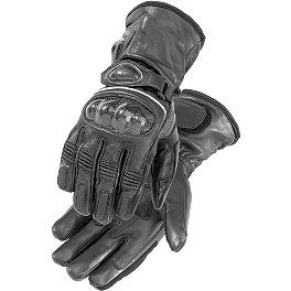 Firstgear Heated Carbon Gloves - Firstgear Dual Heat-Troller