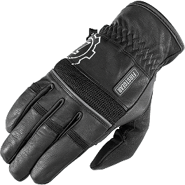 Firstgear Highway Gloves - AGVSport Mission Textile Jacket