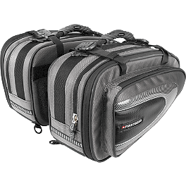 Firstgear Silverstone Saddlebags - Firstgear Monza Tank Bag With Backpack