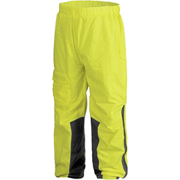 Firstgear Sierra Rain Pants - Dainese Edimburgo Waterproof Reflective Pants