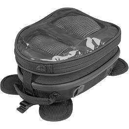 Firstgear Laguna Mini Hard Tank Bag - Firstgear Temperfoam Back Pad