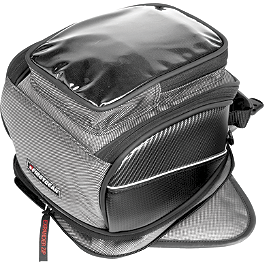 Firstgear Silverstone Tank Bag - Firstgear Onyx Magnetic Tank Bag
