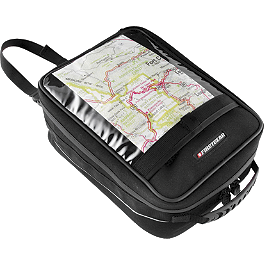 Firstgear Onyx Magnetic Tank Bag - Firstgear Silverstone Saddlebags