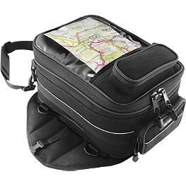 Firstgear Onyx Expandable Mag Tank Bag - Cycle Case Compact GPS Tank Bag Rain Cover