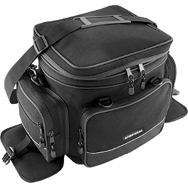 Firstgear Onyx Tail Bag - Rapid Transit Platoon Tail Bag - Black