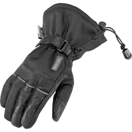 Firstgear Women's Explorer Gloves - Icon 1000 Women's Hella Kangaroo Gloves - Long