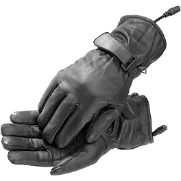 Firstgear Women's Heated Passenger Gloves - Firstgear Women's Heated Rider Gloves
