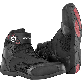 Firstgear Mesh Lo Boots - Firstgear Mesh-Tex Gloves