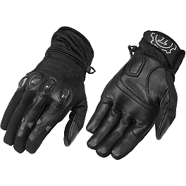Firstgear Mesh-Tex Gloves - Firstgear Rubber Overboots