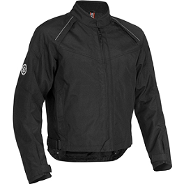 Firstgear Rush Tex Jacket - River Road Pecos Leather And Mesh Jacket