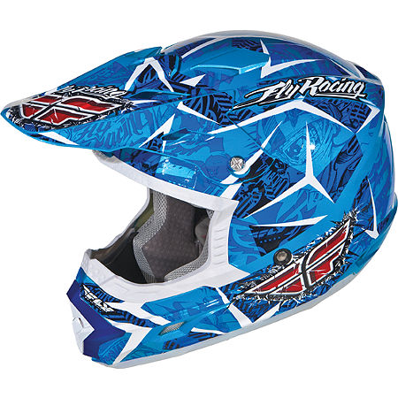 2012 Fly Racing Youth Trophy II Helmet - Main