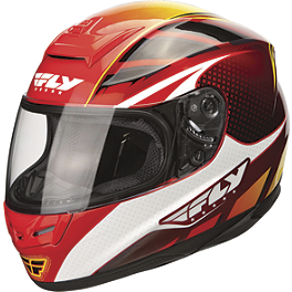 Fly Racing Paradigm Helmet - Classic - Sparx Tracker Helmet - Stiletto