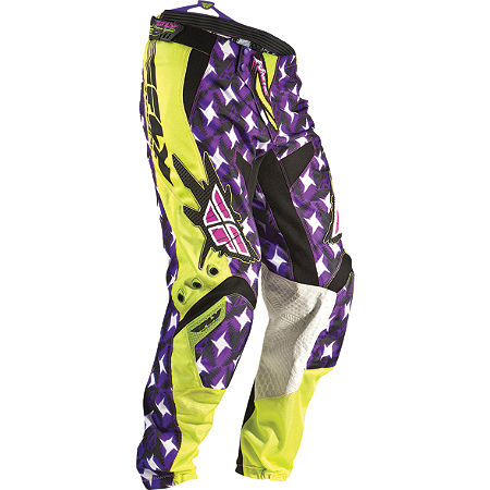 2011 Fly Racing Youth Kinetic Pants - Flash - Main
