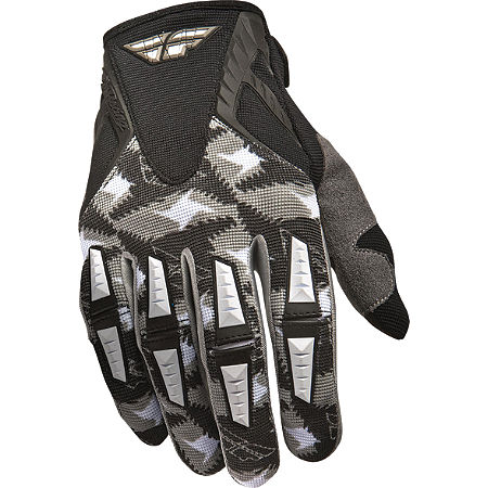 2011 Fly Racing Youth Kinetic Gloves - Main